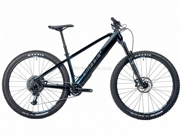 Kinesis Rise GXE Alloy Hardtail Electric Mountain Bike L, Black, Grey, Alloy Frame, 12 Speed, Disc Brakes, Single Chainring