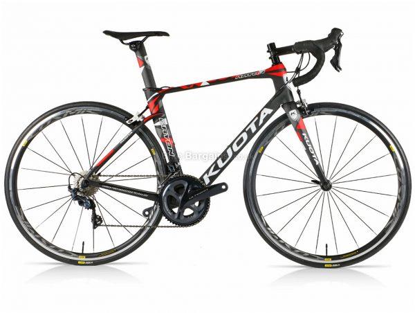 Kuota Kryon Ultegra Carbon Road Bike XXS, Black, Red, Green, Carbon Frame, 22 Speed, Caliper Brakes, Double Chainring