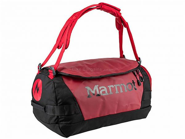 Marmot Long Hauler Small Duffel Bag 35 Litres, Red, Black, 810g, Nylon
