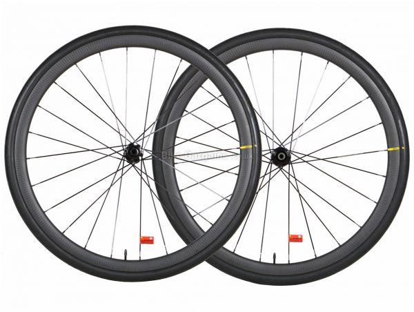 Mavic Ksyrium Pro Carbon UST Disc Front Road Wheel 700c, Front, Black, Carbon, 700c wheels, Disc Brakes, Front,