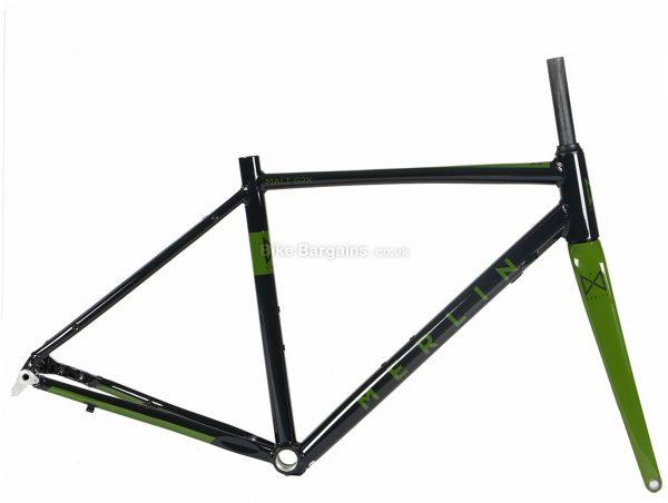 Merlin Malt G2X Alloy Gravel Frame 47cm,50cm,53cm,56cm,59cm, Black, Green, 2.1kg, Alloy Frame, 700c wheels, Disc Brakes,