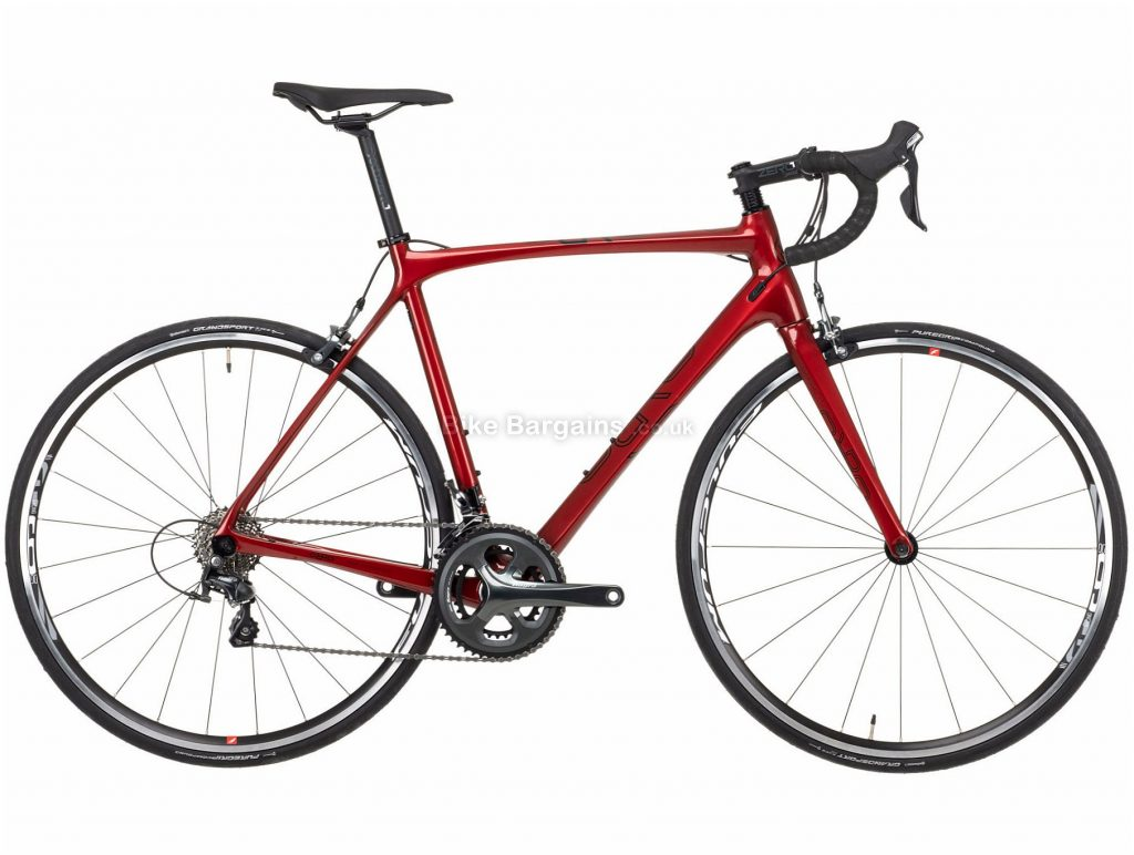 Orro Gold Tiagra Carbon Road Bike 2021 XXS,S,M,L, Red, Black, 20 Speed, Carbon Frame, Men's, 700c wheels, Caliper Brakes, Double Chainring