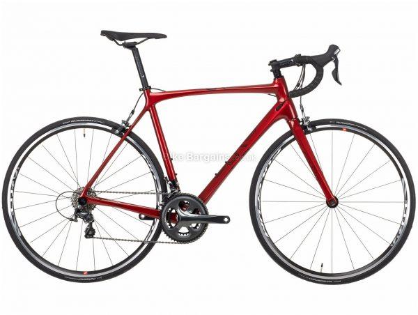 Orro Gold Tiagra Carbon Road Bike 2021 XXS, Red, Black, 20 Speed, Carbon Frame, Men's, 700c wheels, Caliper Brakes, Double Chainring