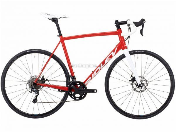 Ridley Fenix SLA Tiagra Disc Alloy Road Bike 2021 L, Red, White, 20 Speed, Alloy Frame, Men's, 700c wheels, Disc, Double Chainring