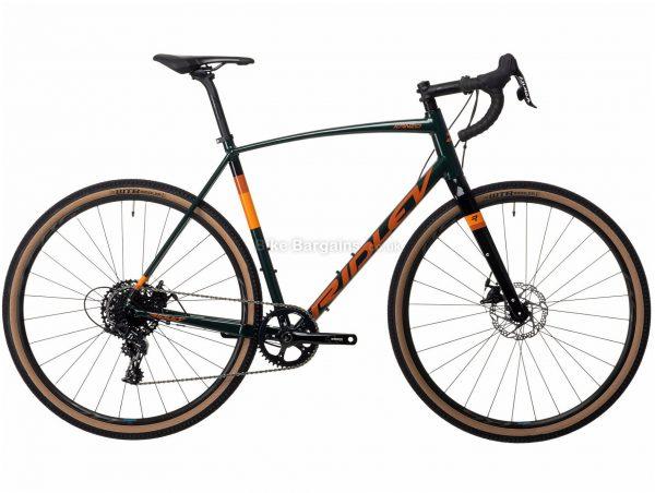Ridley Kanzo A Apex 1 Alloy Adventure Gravel Bike 2021 XS,L, Green, Orange, 11 Speed, Alloy Frame, Men's, 700c wheels, Disc, Single Chainring