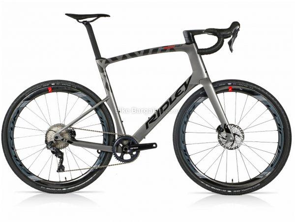 Ridley Kanzo Fast GRX Custom Aero Carbon Gravel Bike S,M,L,XL, Grey, Carbon Frame, 11 Speed, Disc Brakes, Single Chainring