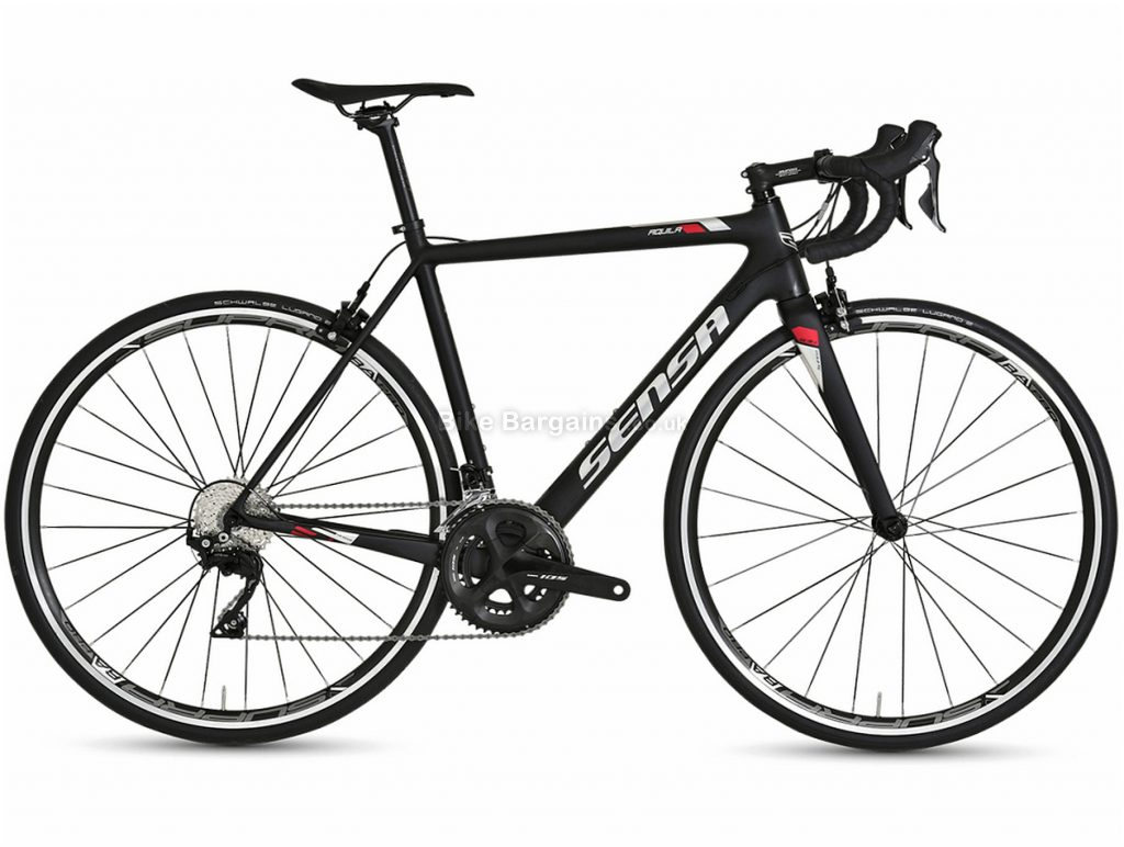 Sensa Aquila 105 Carbon Road Bike 2021 50cm, 53cm, 55cm, Black, Carbon Frame, 22 Speed, 700c wheels, Caliper Brakes, Double Chainring