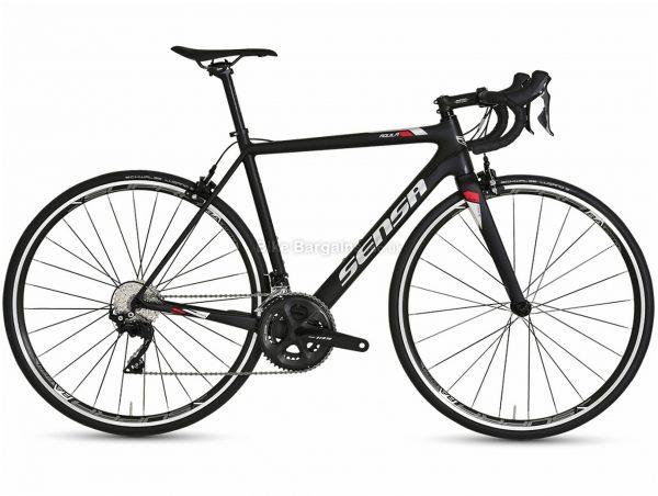 Sensa Aquila 105 Carbon Road Bike 2021 55cm,58cm,61cm, Black, Carbon Frame, 22 Speed, 700c wheels, Caliper Brakes, Double Chainring