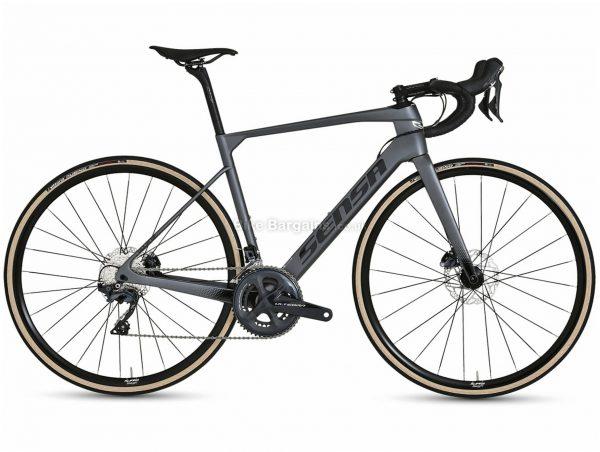 Sensa Giulia GF Ultegra Special Carbon Road Bike 2021 50cm, Grey, Black, Carbon Frame, 22 Speed, 700c wheels, Disc Brakes, Double Chainring