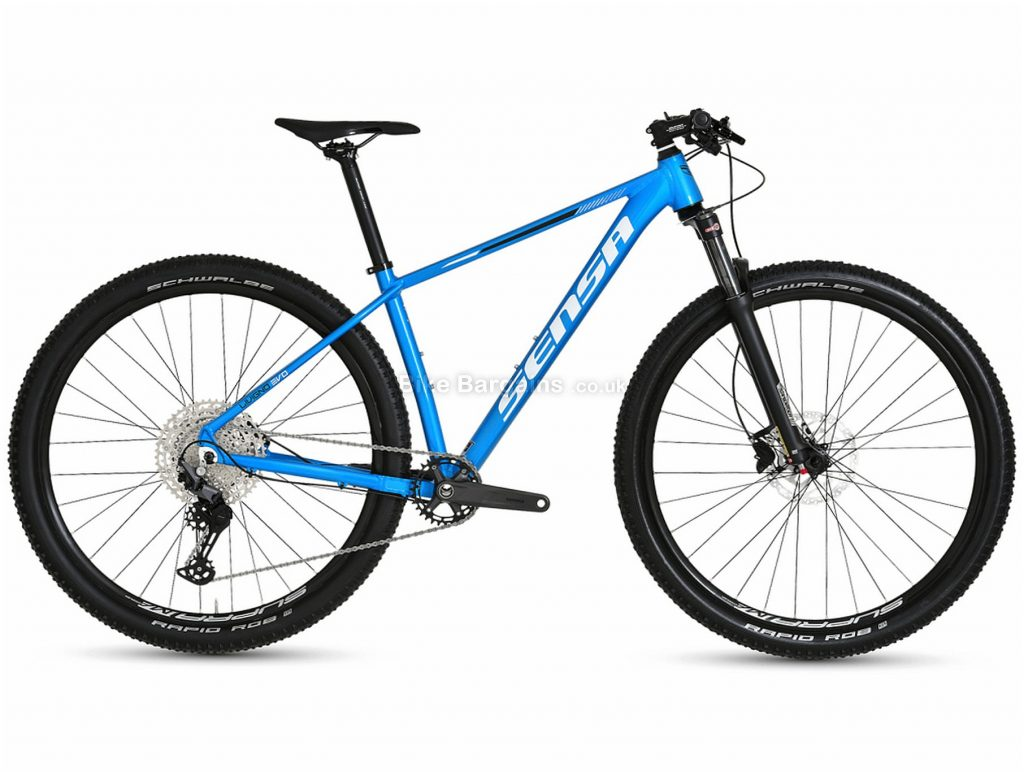 "Sensa Livigno Evo LTD Comp Alloy Hardtail Mountain Bike 2021 19"", Blue, Black, Alloy Frame, 12 Speed, Disc Brakes, Single Chainring"