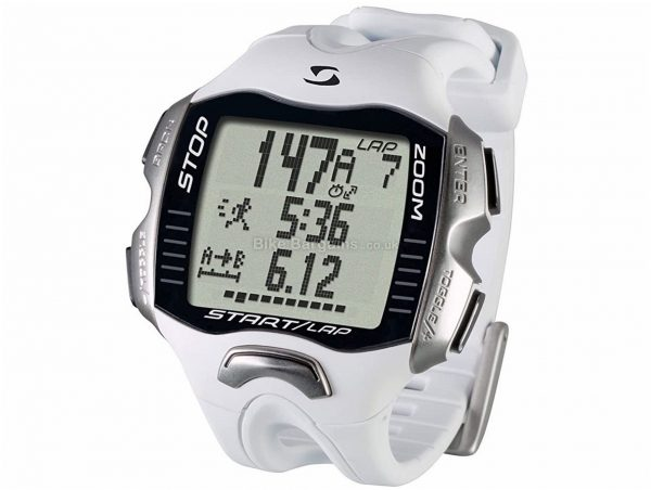 Sigma RC Move HRM Watch Black, Silver, White, One Size, Plastic, Steel