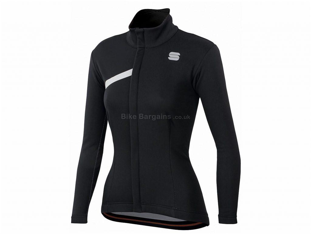 Sportful Ladies Tempo Jacket S, Pink, Ladies, Long Sleeve, Polyester, Elastane