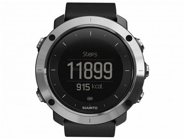 Suunto Traverse GPS Watch Black, Silver, One Size, 80g, Plastic, Steel