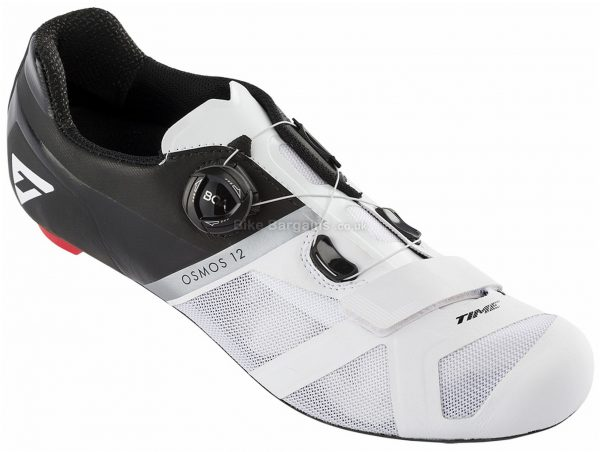 Time Osmos 12 Road Shoes 41,42,43,44,45,46, Black, White, Red, Men's, Boa Fastening, Weighs 500g, Carbon