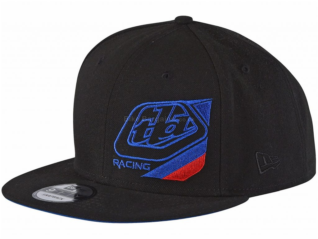 Troy Lee Designs Precision Snapback Cap One Size, Black, Unisex, Polyester