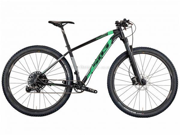"Wilier 503X Pro NX Alloy Hardtail Mountain Bike 2021 S, Black, Green, Grey, Alloy Hardtail Frame, 12 Speed, 29"" wheels, Disc Brakes, Single Chainring"