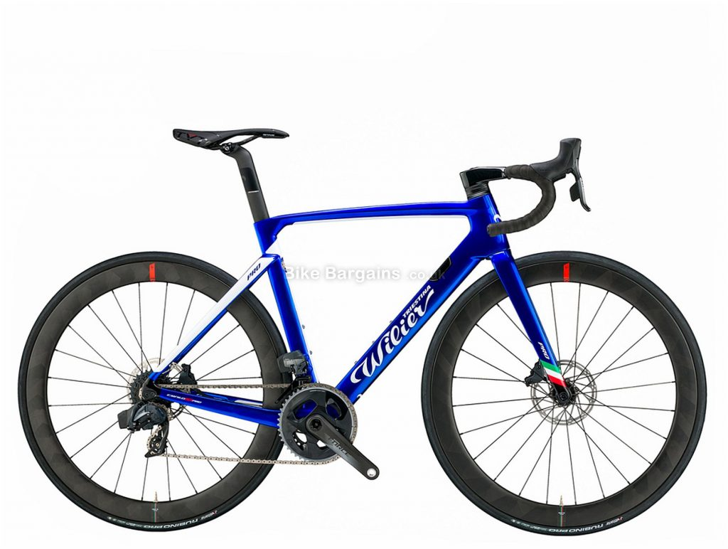 Wilier Cento 10 Pro Disc Ultegra Carbon Road Bike L, Blue, Carbon Frame, 22 Speed, Disc Brakes, Double Chainring