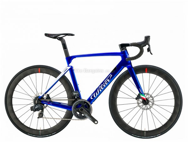 Wilier Cento 10 Pro Disc Ultegra Carbon Road Bike L, Blue, Carbon Frame, 22 Speed, Disc Brakes, Double Chainring