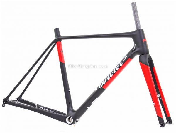 Wilier Cento1 Cross Disc Carbon Cyclocross Frame L, Black, Red, Carbon Frame, 700c wheels, Disc Brakes,