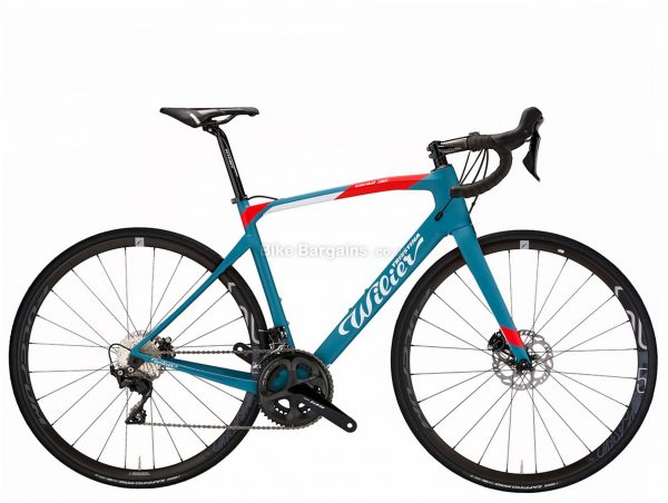Wilier Cento1 NDR 105 Carbon Road Bike 2021 L, Blue, Carbon Frame, 22 Speed, 700c wheels, Disc Brakes, Double Chainring
