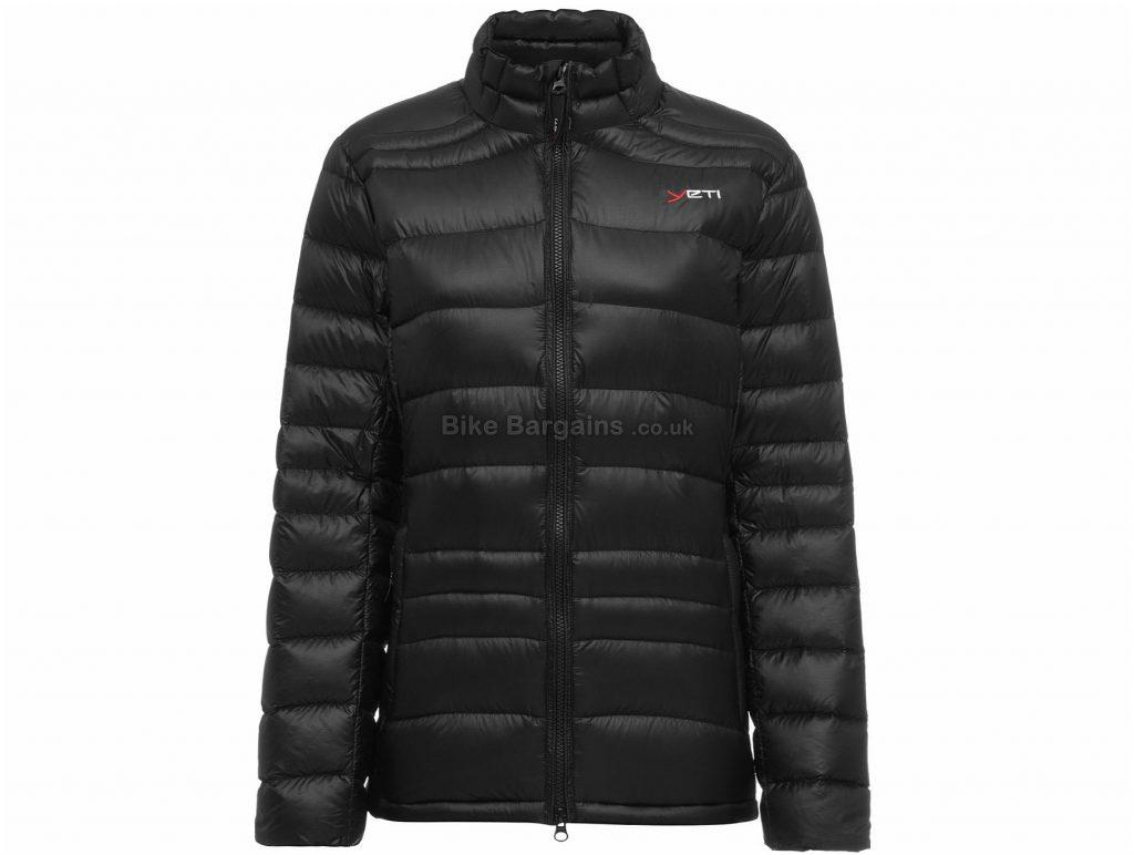 Yeti Ladies Desire Lightweight Down Jacket L, Black, Ladies, Long Sleeve, Nylon