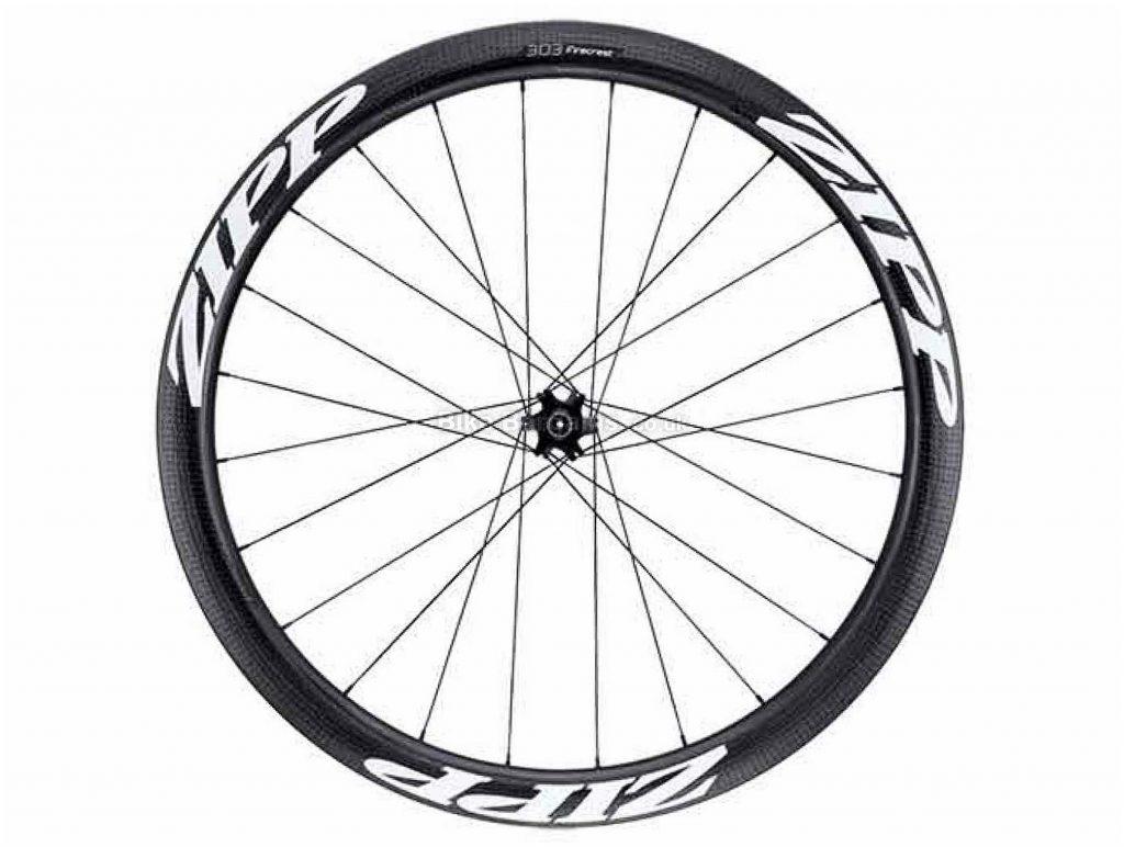 Zipp 303 Firecrest Carbon Tubular Disc Rear Wheel 700c, Rear, Black, White, 10/11 Speed
