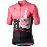 Castelli Giro Hungary Big Start Short Sleeve Jersey 2020