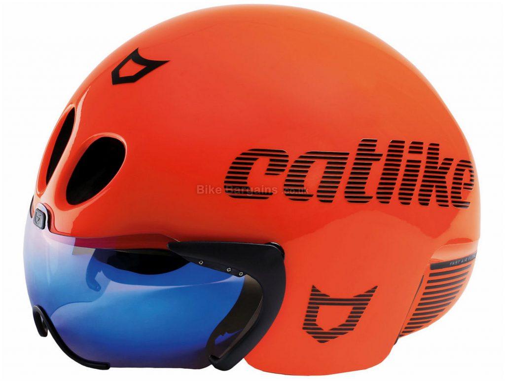 Catlike Rapid Tri Road Helmet S, Black, Unisex, 4 vents, 340g, Polycarbonate