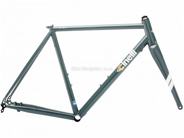 Cinelli Nemo TIG Steel Disc Road Frame XS, Grey, 700c wheels, Disc, Rigid, 2.34kg, Steel
