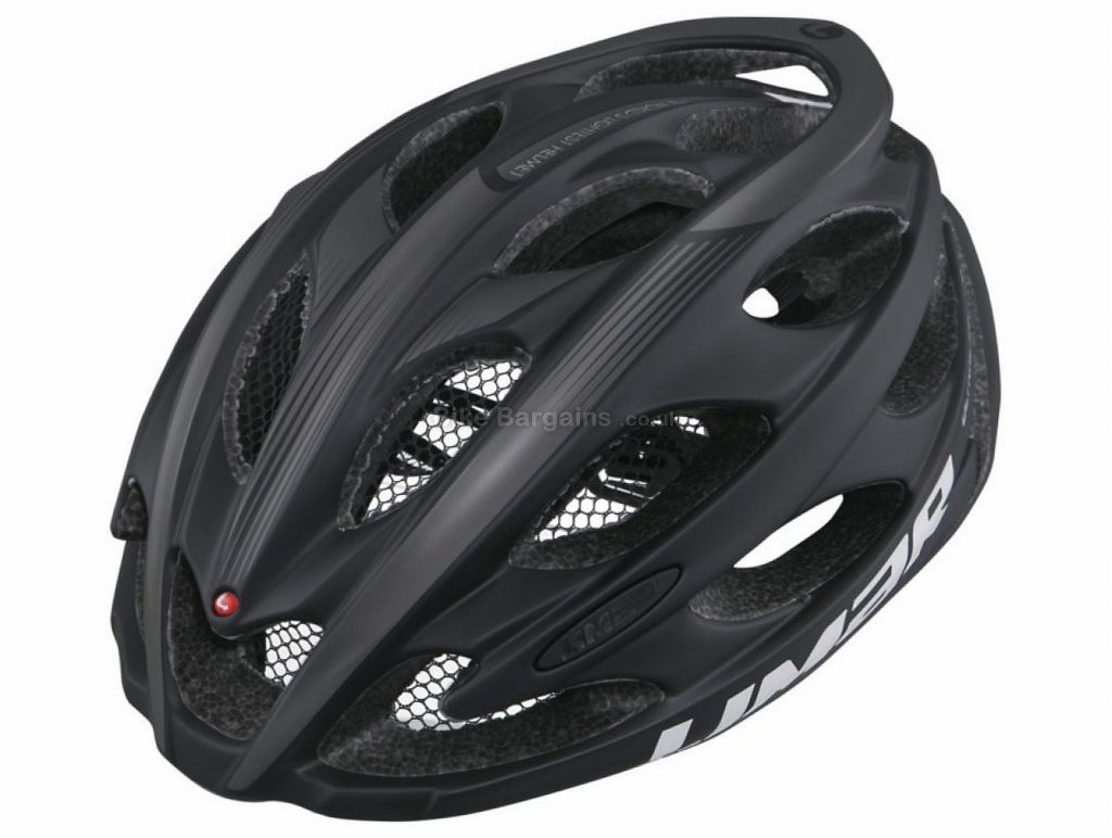 Limar Ultralight+ Road Helmet L, Black, Yellow, 22 Vents, 210g, Polycarbonate