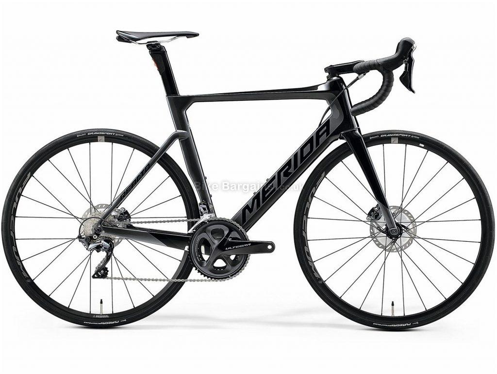 Merida Reacto Disc 6000 Carbon Road Bike 2020 XS,M,L, Black, Silver, 700c wheels, Disc, 22 Speed, Double Chainring, Carbon