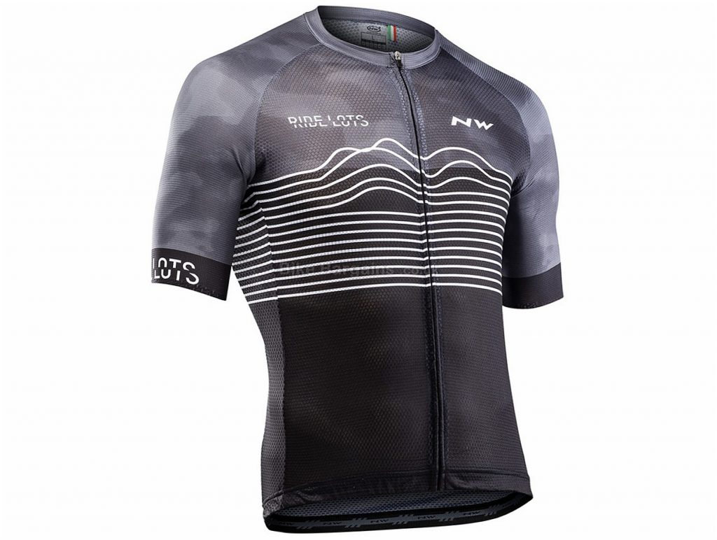 Northwave Blade Air Short Sleeve Jersey XXL, Grey, Black, Men's, Short Sleeve, 110g, Polyester, Elastane