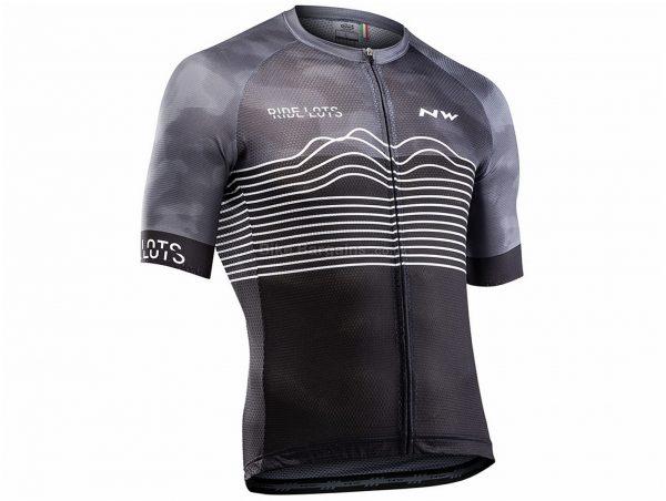 Northwave Blade Air Short Sleeve Jersey S,XXL, Grey, Black, Men's, Short Sleeve, 110g, Polyester, Elastane