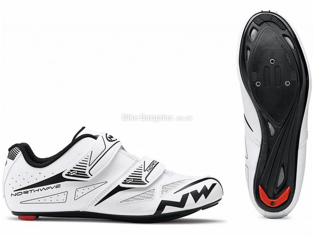Northwave Jet Evo Road Shoes 2018 37, Yellow, Velcro Fastening, Nylon, Velcro