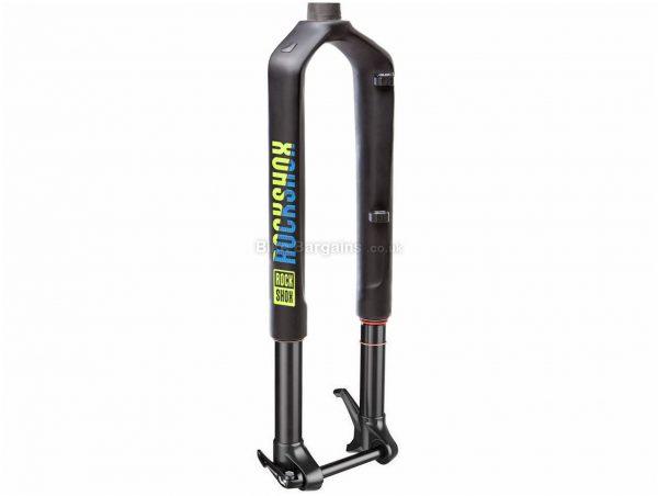 """RockShox RS1 RLC Solo Air Carbon MTB Suspension Forks 29"""", 100mm, Black, Blue, Green, Suspension Fork, 1.573kg, Carbon"""