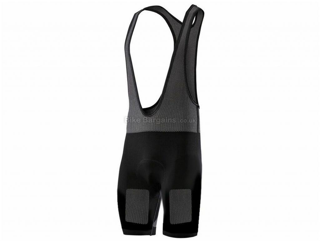 SIX2 OSMO Bib Shorts L,XL, Black, Tight, Polyester, Elastane