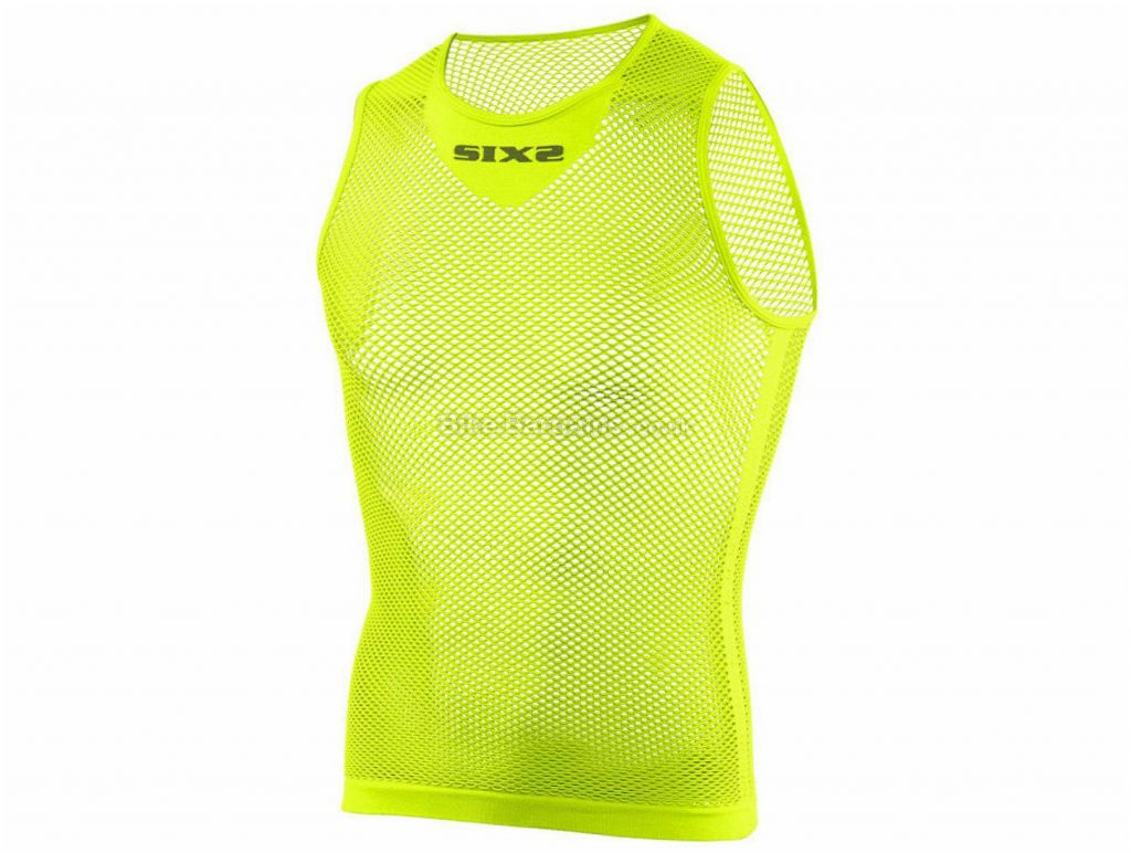 SIX2 SMR2 C Sleeveless Baselayer One Size, Yellow, Blue, Pink, Sleeveless, Polyamide