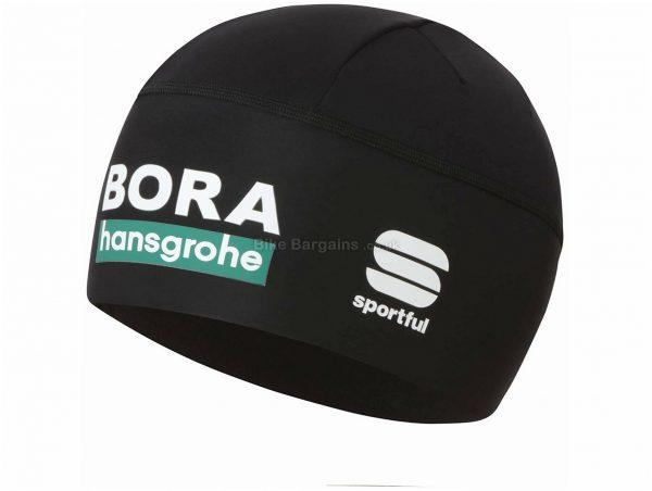 Sportful Bora Hansgrohe TV Cap One Size, Black, Men's, Ladies, Polyester, Elastane