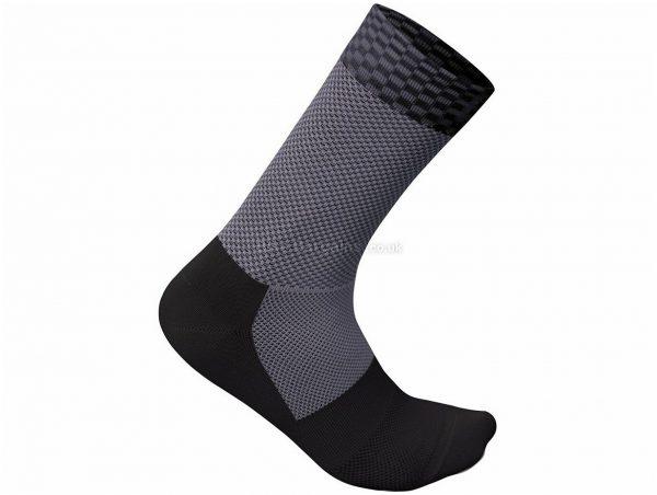Sportful Checkmate Ladies Socks L,XL, Black, Ladies, Polyester, Elastane