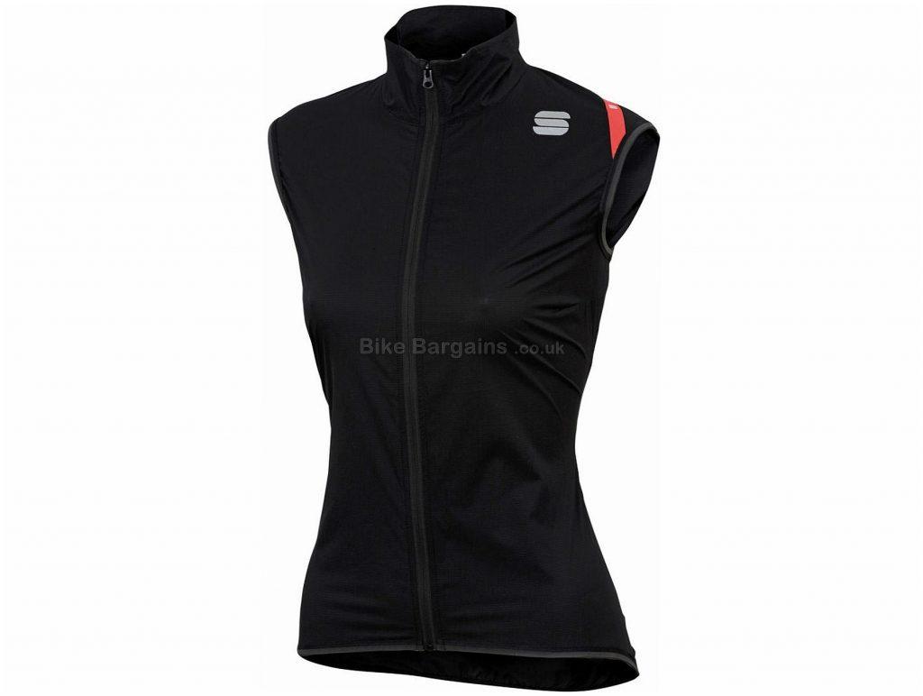 Sportful Hot Pack 6 Ladies Gilet S,M,L,XL,XXL, White, Black, Ladies, Sleeveless, Polyester, Elastane
