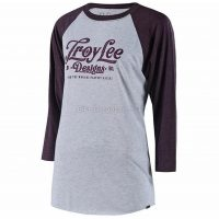 Troy Lee Designs Spiked Ladies Long Sleeve Raglan T-shirt