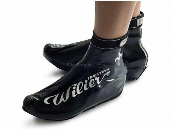 Wilier Rainy Overshoes M, Black, Unisex, Vinyl