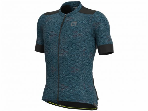 Ale Joshua Short Sleeve Jersey XL, Grey, Purple, Men's, Short Sleeve, Polyester, Cotton