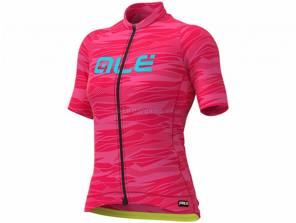 Ale Ladies Graphics PRR Rock Short Sleeve Jersey XL, Grey, Black, Red, Ladies, Short Sleeve, Polyester, Elastane