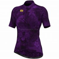 Ale Ladies Prime Floral Limited Edition Short Sleeve Jersey