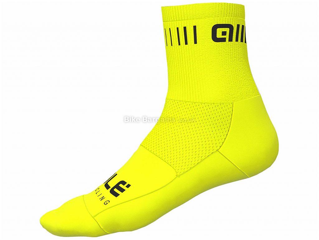 Ale Strada Qskin Socks S,L, Pink, Men's, Polyamide, Elastane