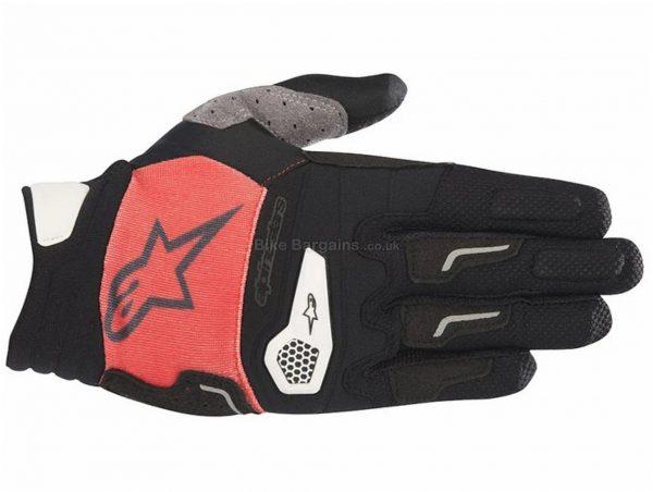 Alpinestars Drop Pro Gloves S, Black, Grey, Men's, Full Finger, Polyester, Polyamide, Polyurethane, Elastane