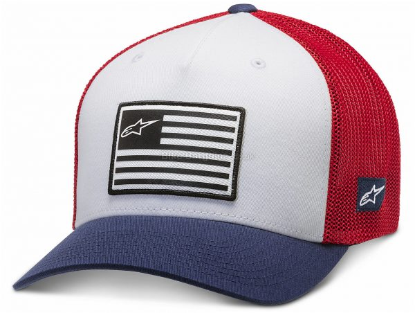 Alpinestars Flag Cap S,M,L,XL, Blue, Grey, Unisex, Cotton, Polyester