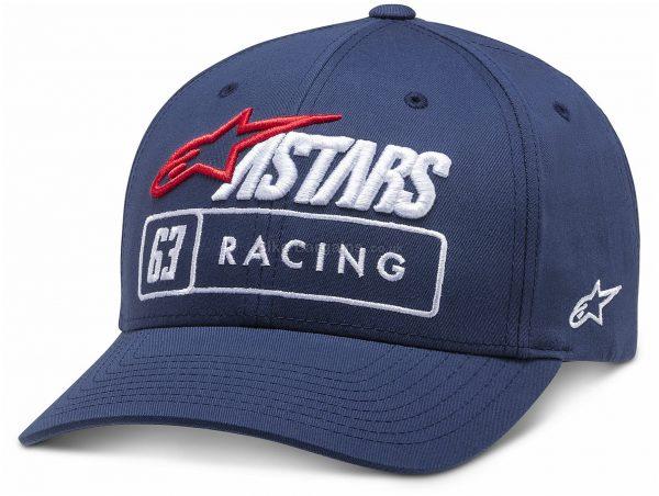 Alpinestars Formula Cap One Size, Black, Grey, Blue, Unisex, Cotton, Polyester
