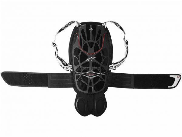 Alpinestars MTB Tech Bionic MTB Back Protector XXL, Black, Red, 700g, Nylon, Velcro, Polyester, EVA